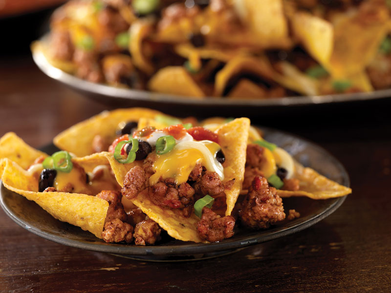 Perfect Day Pork and Black Bean Nachos | Taste of the Tailgate